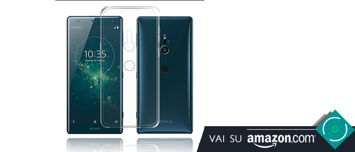 Sony Xperia XZ2 migliori cover custodie Amazon