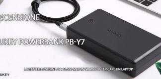 Aukey Powerbank PB-Y7 recensione