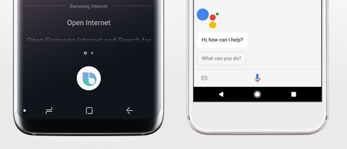 Samsung Bixby vs Google Assistant