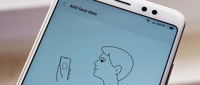 Come configurare e utilizzare Face Unlock Xiaomi Redmi Note 5 Pro