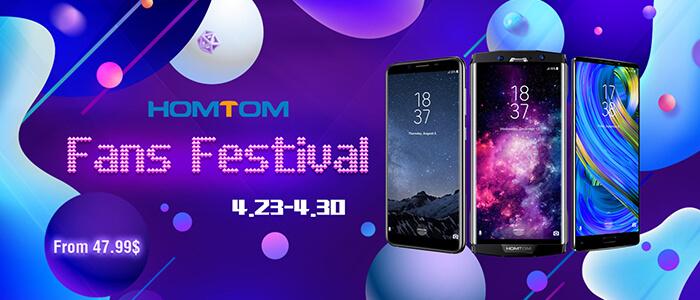HomTom Fans Festival TomTop