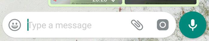 Messaggi vocali WhatsApp.