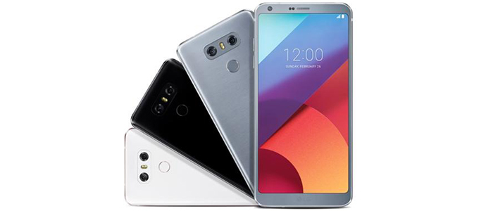 LG G6 Android 8.0 Oreo