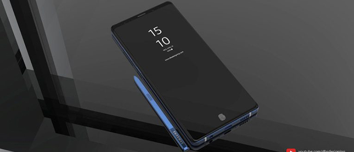 Samsung Galaxy Note 9 concept DBS Designing