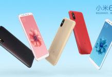 Xiaomi Mi 6X colorazioni