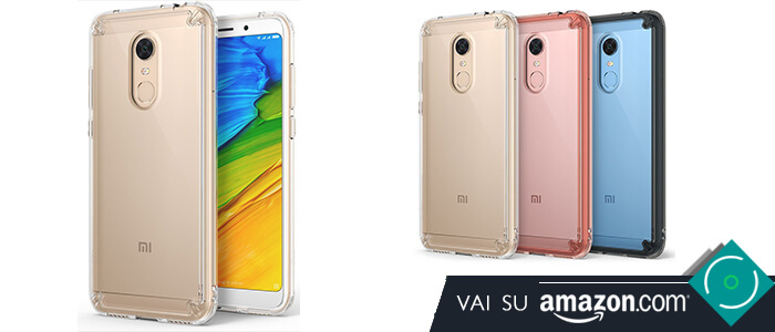 Xiaomi Redmi 5 Plus migliori cover custodie Amazon