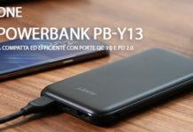 Aukey Powerbank PB-Y13 recensione