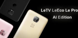 LeEco Le Pro 3 AI Edition offerta Geekbuying