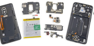 OnePlus 6 teardown iFixit