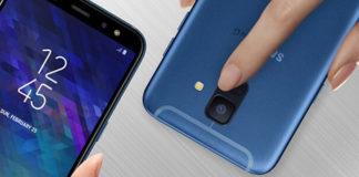 Samsung Galaxy A6 ufficiali
