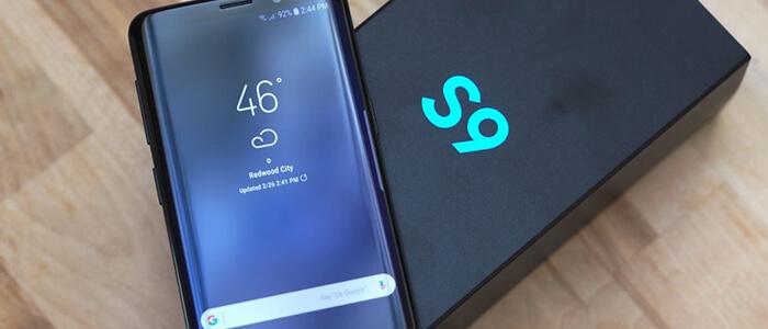 Samsung Galaxy S9 Android 8.1 Oreo GeekBench