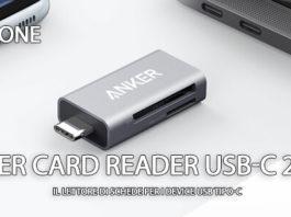 Anker Card Reader USB-C 2-in-1 recensione