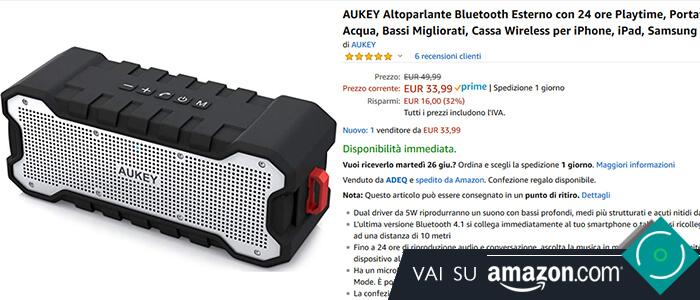 Aukey SoundTank recensione