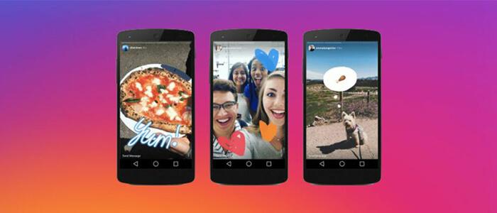 Come dividere video pre-registrati Android per Storie Instagram