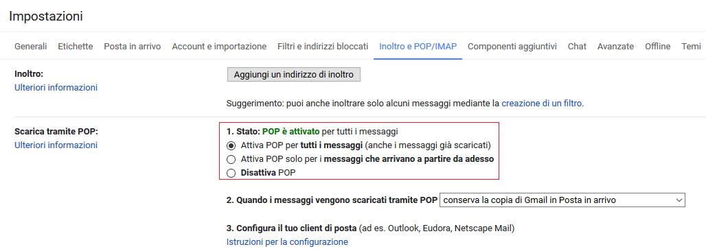 Come trasferire email da account Gmail ad un altro