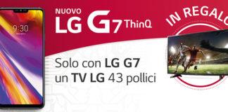 LG G7 ThinQ concorso