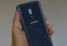 OPPO Find X screenshot