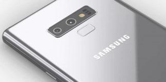 Samsung Galaxy Note 9 FCC