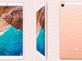 Xiaomi Mi Pad 4 immagini pubblicitarie leak