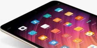 Xiaomi Mi Pad 4 riconoscimento facciale teaser