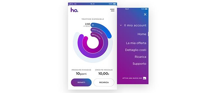 ho. mobile ho. 6,99 offerta