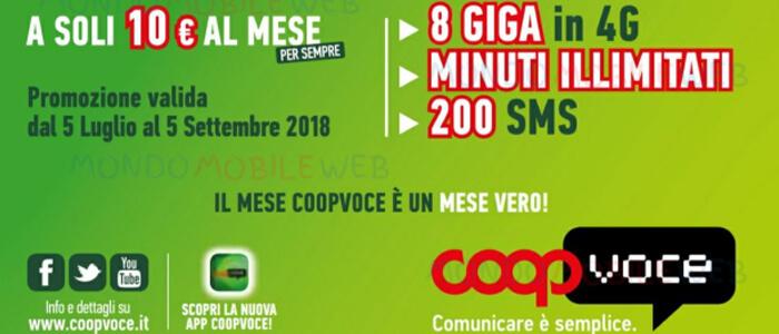 CoopVoce, offerta ChiamaTutti Full