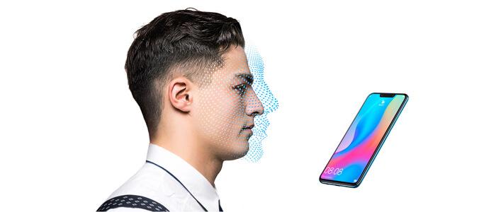 AI e riconoscimenti del volto Huawei
