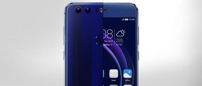 Visione sovrapposta del resto di Huawei P9 e del frontale di Honor 8
