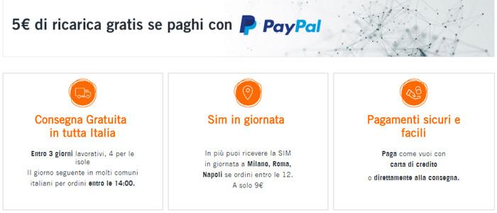 La Wind Smart Online Edition in consegna gratuita con promozione PayPal associata.