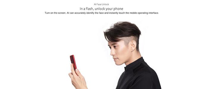 Riconoscimento del volto Xiaomi