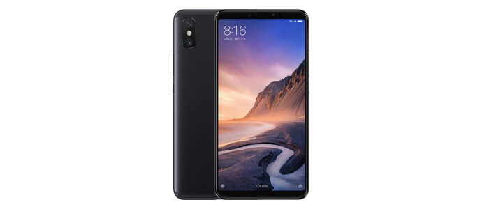 Design del nuovo Xiaomi Mi Max 3