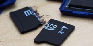 Recuperare dati microSD danneggiata