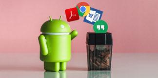 Disinstallare app di sistema Android