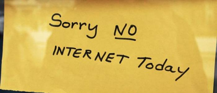 Sopravvivere senza Internet