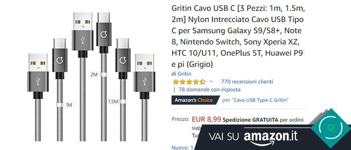 Miglior cavo USB Type-C