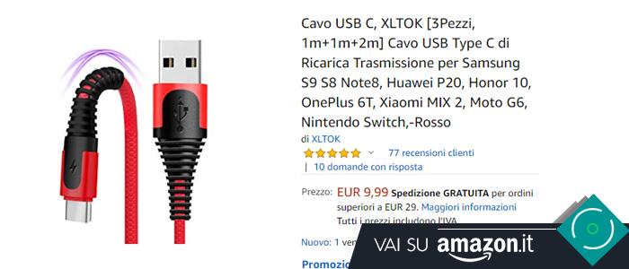 Migliore cavo USB Typo-C