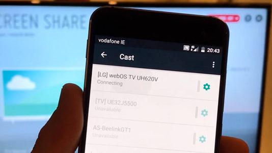 Collegare lo smartphone alla TV