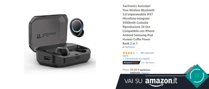 Migliori auricolari bluetooth True Wireless