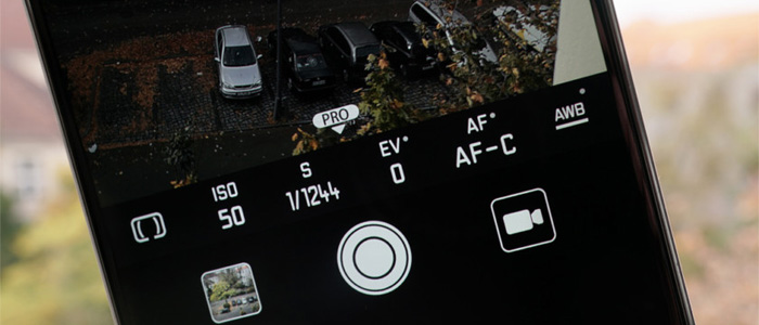 Fotocamera smartphone manuale