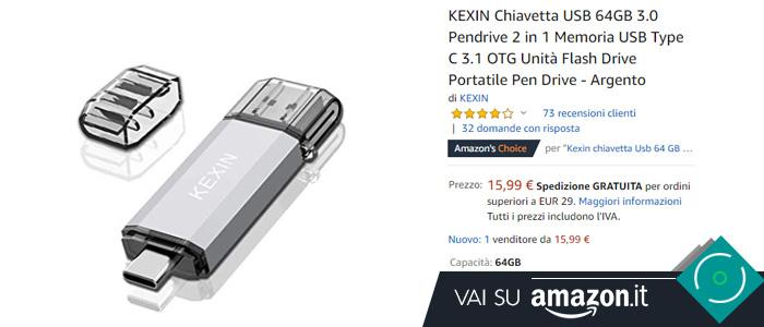 Migliore pendrive USB OTG