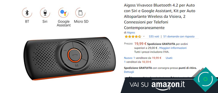 Kit vivavoce Android