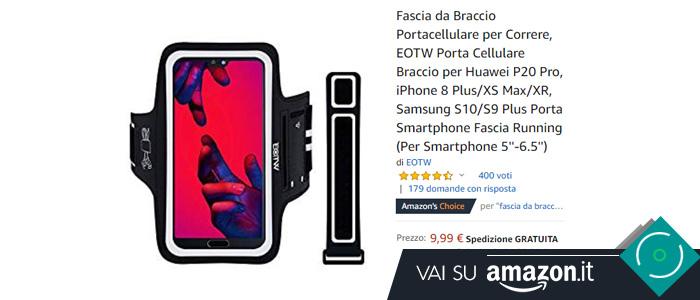 Fascia braccio smartphone Eotw
