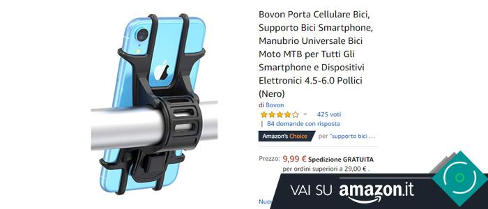 Miglior supporto smartphone bici
