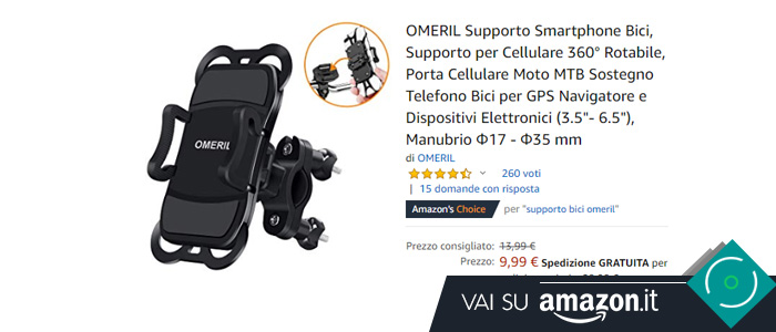 Migliori supporti smartphone bici