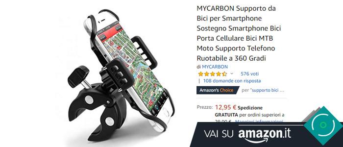 Smartphone holder bici