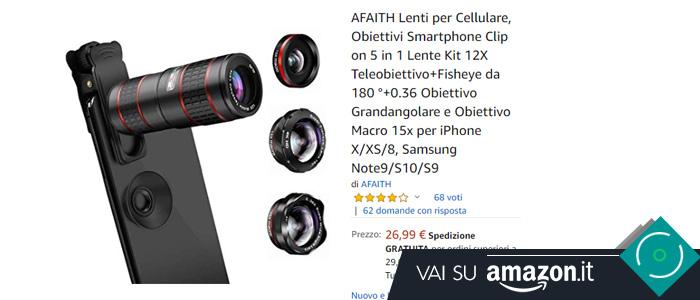 Kit lenti smartphone AFAITH