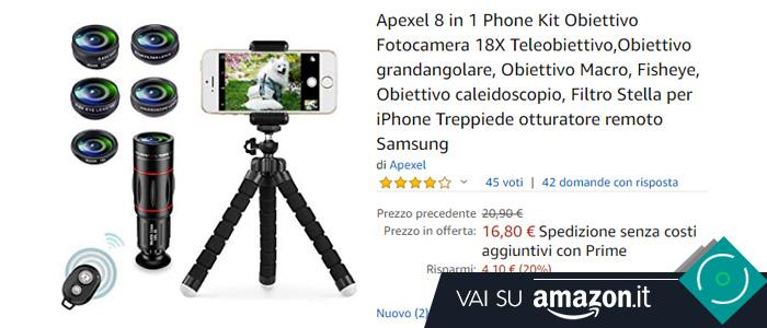 Kit lenti smartphone Apexel