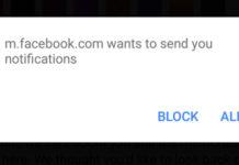 Bloccare notifiche Google Chrome